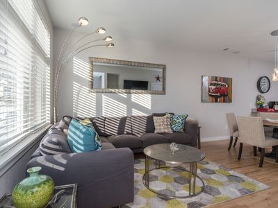 Photo for Luxury, Family Friendly, Walking Distance to Downtown, WiFi, Grill, 2 Car Garage