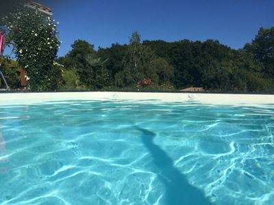 Photo for South Landes heated pool quiet comfort