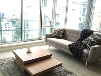 Photo for Prime 1 BDRM Located on Robson St.