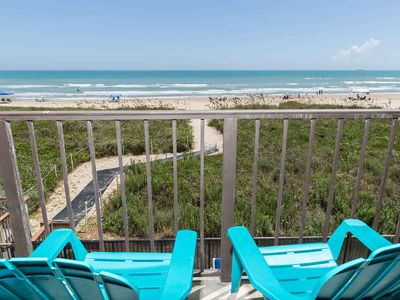 Photo for Fun-est Place on the Beach! Second Story View Looking Straight at the Gulf of Mexico. - Florence II 202