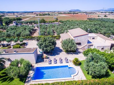 Photo for 3 bedroom Villa, sleeps 6 in sa Pobla with Pool and WiFi