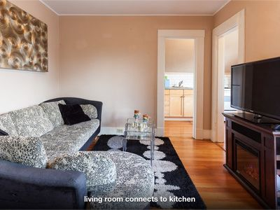 Photo for Beach side 2BR top Floor/private entry/ close to bike lane, supermarket, bus res
