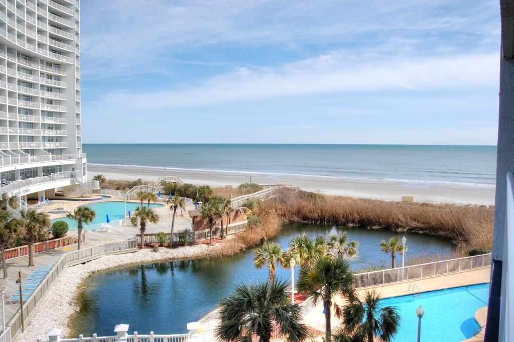 Enjoy indoor/outdoor pools, hot tub and all amenities at this resort near  House of Blues - Myrtle Beach