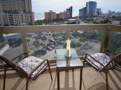 Photo for Atlantis 906, Lovely 2 BR Condo with Great Ocean Views and Outdoor Swimming Pool