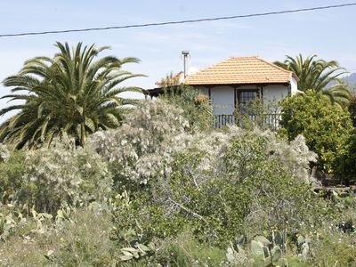 Photo for Casa Lucia II: sunny west side of La Palma, sea views, subtropical garden.