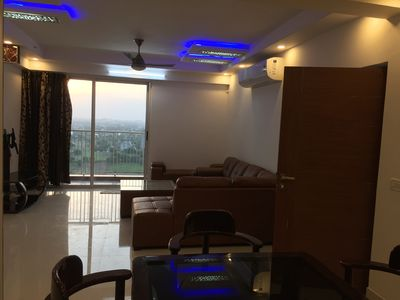 Photo for brand new,2BHK ,swimming pool,zacuzzi, Gym,Spa,Garden,secure ,gated,pvt. parking