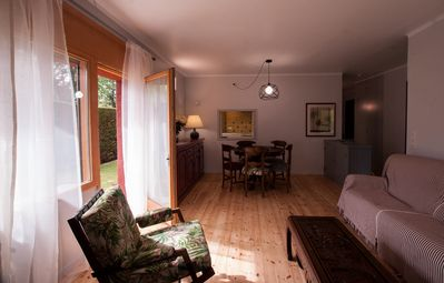 Photo for Large apartment with direct access to the garden, near Lake Puigcerdà