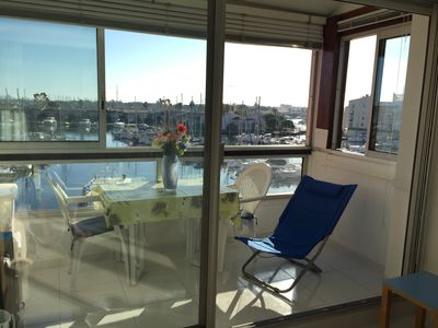 Photo for BEAUTIFUL APARTMENT PANORAMIC 1ST FACE LINE IN PORT