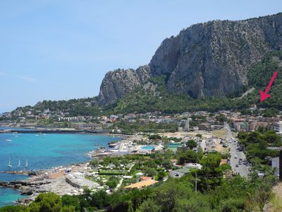 Photo for Addaura -Mondello Breathtaking View
