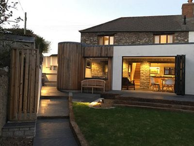 Photo for Luxury Character Cottage, less than 5 mins walk to the North Cornwall Coast