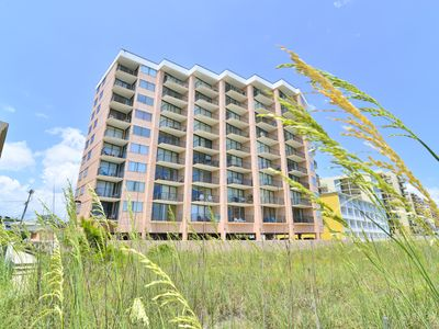 Photo for DIRECT OCEANFRONT in the HEART of NORTH MYRTLE! Wi-Fi * Balcony * Pool!