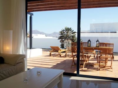 Photo for House in the center of Playa Blanca with Parking, Internet, Washing machine, Air conditioning (639097)