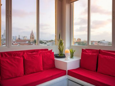 Photo for Ganem Lofts - Exclusive 1BR Apt w/ Incredible Old City Views 5B