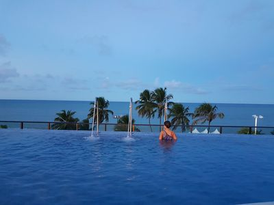 Photo for Comfort, Safety and Leisure in front of the Sea of Cabo Branco