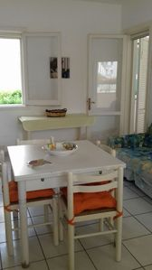 Photo for Bright and quiet residence ideal for families and children 50 meters from the sea!