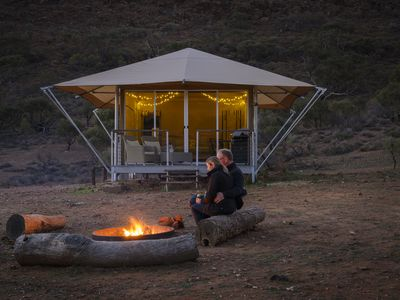 Photo for Flinders Bush Retreats - Deluxe Eco Tent