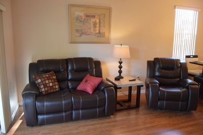 Family Room -Love Seat and Recliner