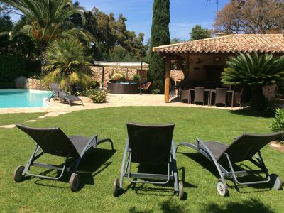 Photo for Luxury villa with heated pool 400 meters beach