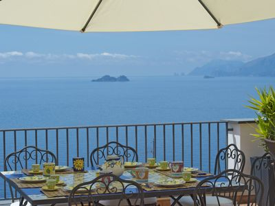Photo for Unforgettable stay on Amalfi Coast - V740