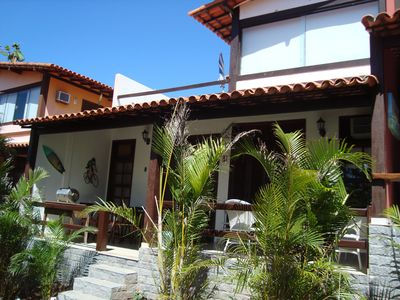 Photo for HOUSE WITH 2 BEDROOMS IN THE BEACH GERIBÁ
