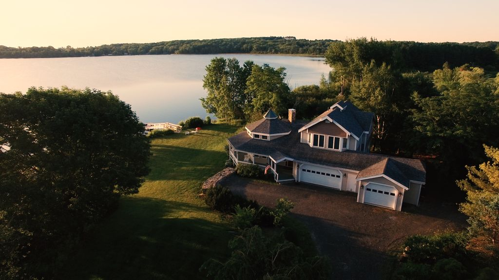 Rock Coast Lake House Fun For All Seasons Swim, Fish & Kayak + Great VIDEO +, Rockland,Mid-Coast ...