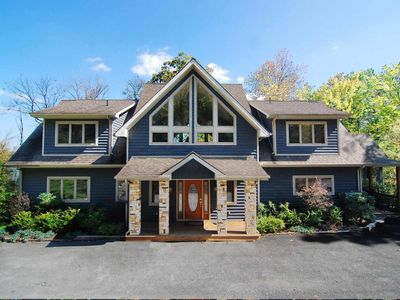 Photo for Journey's End- 8 bedroom lakefront home in central Deep Creek Lake