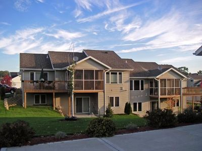 Photo for Luxurious New Condos near woods - 21 Minutes to Alliant Energy Center