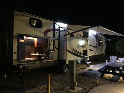 Photo for Spacious and Luxurious 37 ft Rv Trailer