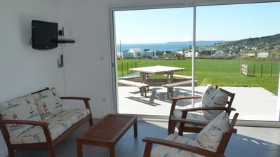 Photo for Detached house full sea view, 6 people, close to shopping and beaches
