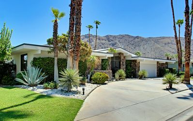 Photo for Palm Springs Mid-Century Luxury Retreat, Spectacular 360 Degree Mountain Views!
