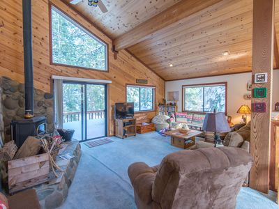 Photo for Summer Lease or Vacation Rental Forest View Cabin in Tahoe Donner Truckee CA