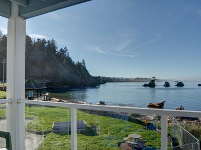 Photo for Stunning views from this bay front condo in Lincoln City's Taft District!