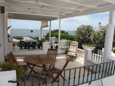 Photo for beautiful sea view apartment in the beautiful bay of San Gregorio