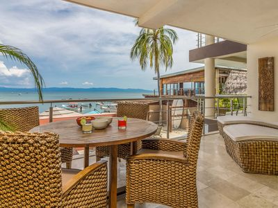 Photo for BeachFront Condo AVAILABLE At Punta Mita -surrounded by restaurants and shops