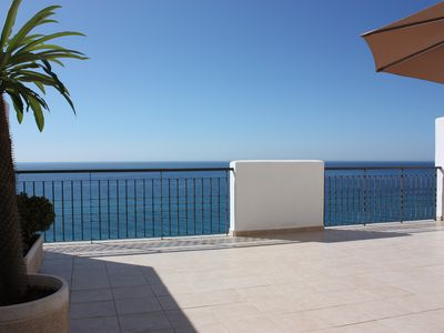 Photo for LUXURIOUS apartment with AMAZING view and VERY BIG terrace / Nerja Torrox-Costa