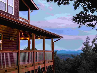 BLUE VIEW MOUNTAIN W/SPECTACULAR MOUNTAIN VIEWS,SECLUDED,DOG FRIENDLY