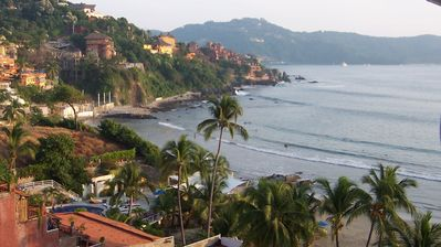 Photo for La Madera Beach-1 BR Condo with Spectacular Views of Zihuatanejo Bay.