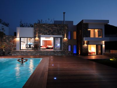 Photo for Luxury villa with breathtaking views in Crete ✔️