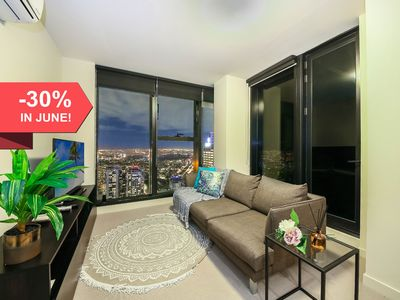 Photo for MODERN CBD Suites + AMAZING NIGHT VIEW + FREE WiFi