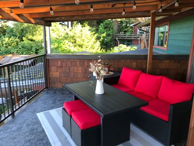 Photo for Oasis in the Cowichan Valley - Oceanview property