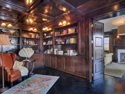 Paneled Library / Office