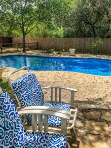 Photo for ★Wild Blue Rose Home ★ Saltwater Pool ★ 4 Bdrms ★