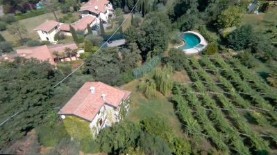 Photo for Casa dei Salici - COTTAGE between vineyards and lake view