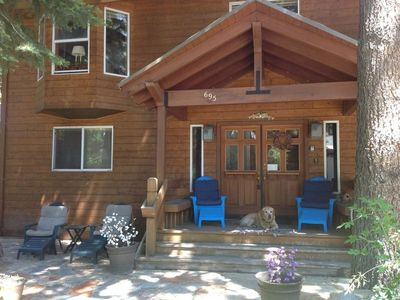 Photo for PENTHOUSE-DRAMATIC TAHOE CITY 2 BED WITH LOFT & 3 FIREPLACES, SLEEPS 6
