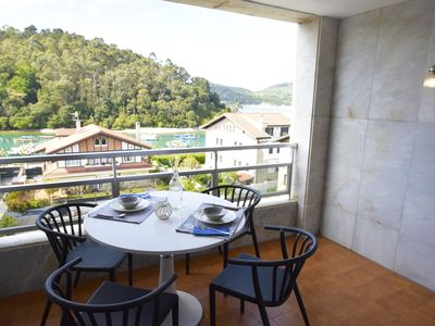 Photo for Zugaz - Penthouse with views of the Ria and the Beach