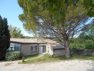 Photo for Cottage at the foot of Mont Ventoux, Malaucène