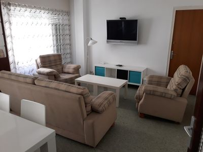 Photo for Ampli apartament in the center to 1 minut of the platja