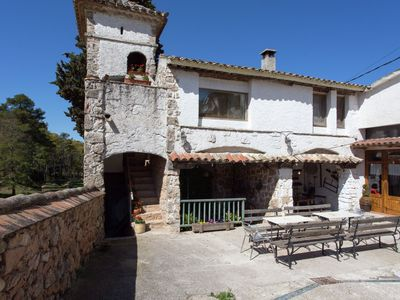 Photo for Holiday home on a typical Catalan farm with small communal swimming pool
