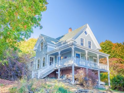 Photo for 4BR Farmhouse + 1BR Cottage w/ New England Charm – Walk to Harbor