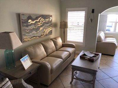 We have completely remodeled this beautiful property! Two leather couches!